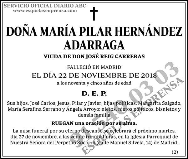 María Pilar Hernández Adarraga